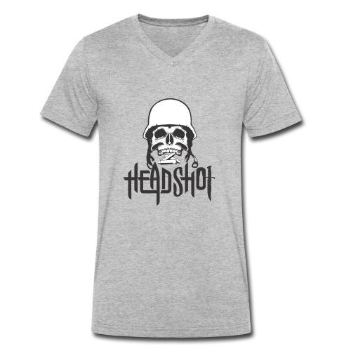printing on t shirt - Männer Bio-T-Shirt mit V-Ausschnitt von Stanley & Stella