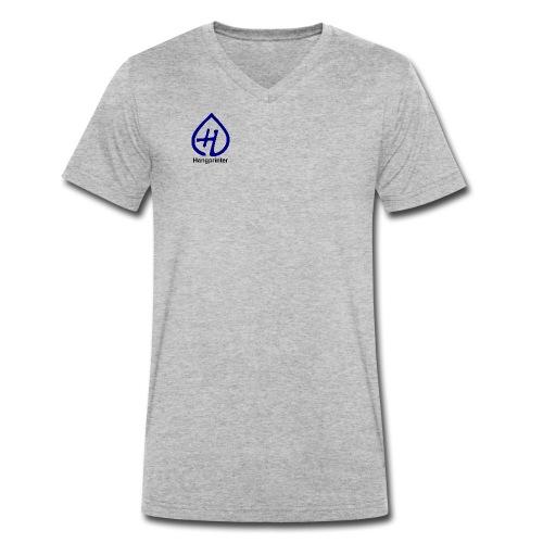 Hangprinter logo and text - Ekologisk T-shirt med V-ringning herr från Stanley & Stella