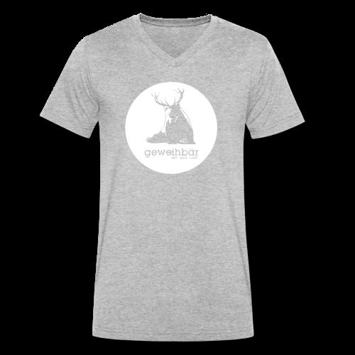 geweihbär - Männer Bio-T-Shirt mit V-Ausschnitt von Stanley & Stella