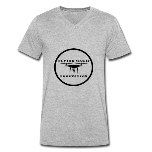 Flying Magic Production - Männer Bio-T-Shirt mit V-Ausschnitt von Stanley & Stella
