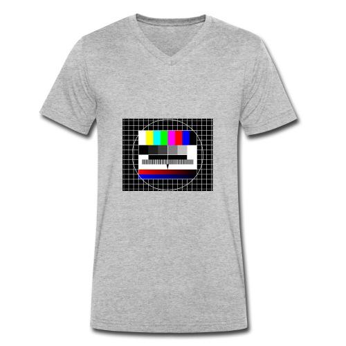 testbild - Männer Bio-T-Shirt mit V-Ausschnitt von Stanley & Stella