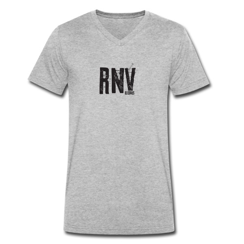Rhythm N Vibe Records - Men's Organic V-Neck T-Shirt by Stanley & Stella