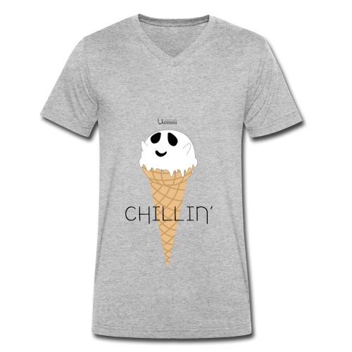 IceGhost - T-shirt bio col V Stanley & Stella Homme