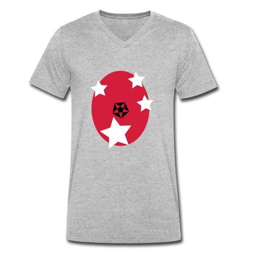OsterStern - Männer Bio-T-Shirt mit V-Ausschnitt von Stanley & Stella