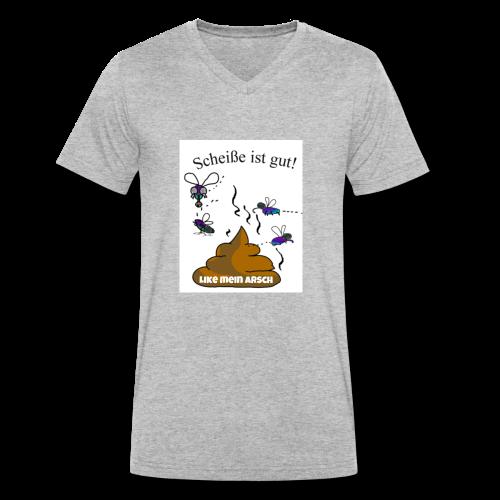gaga im kopf - Männer Bio-T-Shirt mit V-Ausschnitt von Stanley & Stella