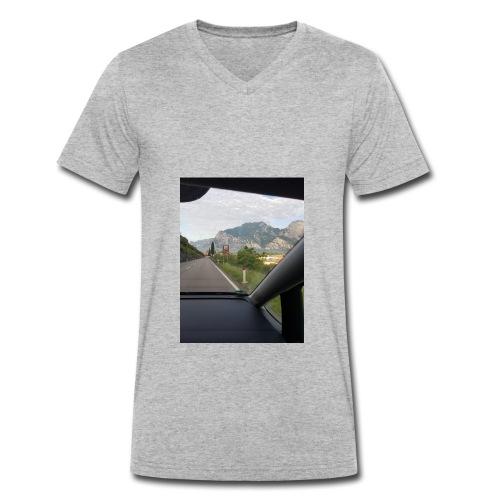 Urlaub Lago - Männer Bio-T-Shirt mit V-Ausschnitt von Stanley & Stella