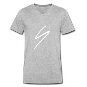 SYS - Signature - Männer Bio-T-Shirt mit V-Ausschnitt von Stanley & Stella