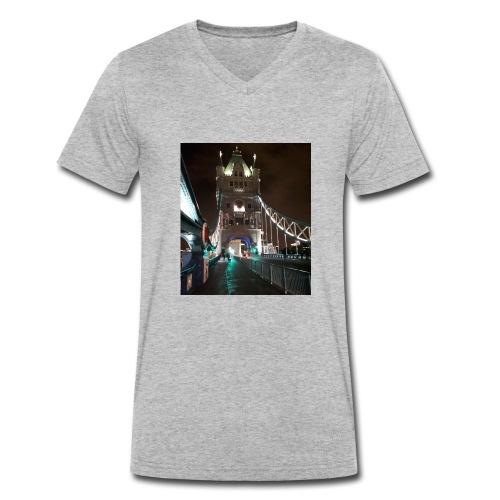 sshot 201 - Men's Organic V-Neck T-Shirt by Stanley & Stella