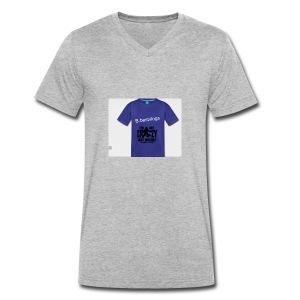 Best - Men's Organic V-Neck T-Shirt by Stanley & Stella