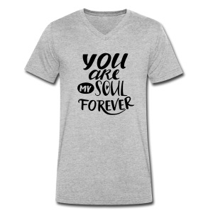 youaremysoulforever - T-shirt bio col V Stanley & Stella Homme
