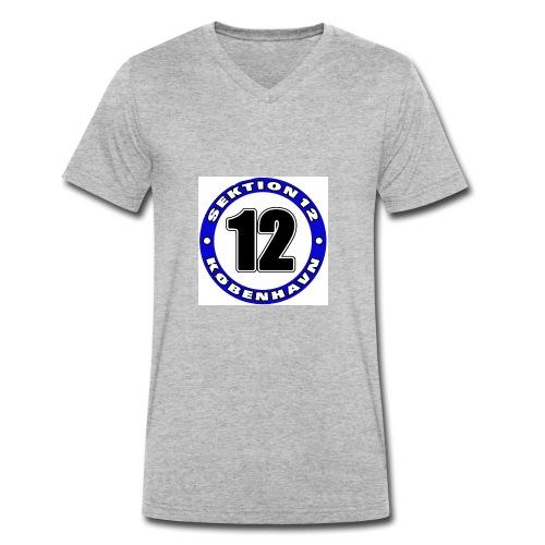 Udklip - Økologisk Stanley & Stella T-shirt med V-udskæring til herrer