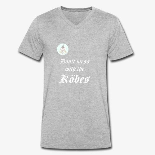 Don't mess with the Köbes - Männer Bio-T-Shirt mit V-Ausschnitt von Stanley & Stella