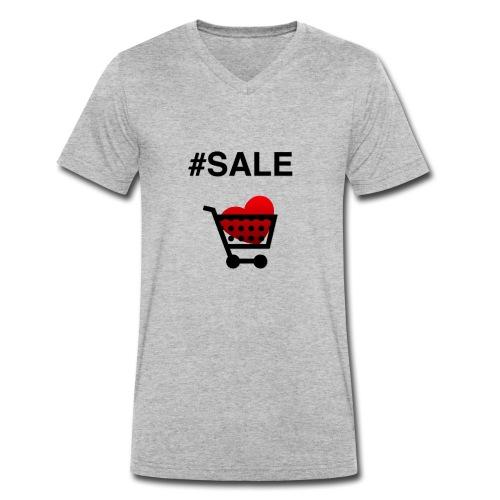 Sale - Männer Bio-T-Shirt mit V-Ausschnitt von Stanley & Stella