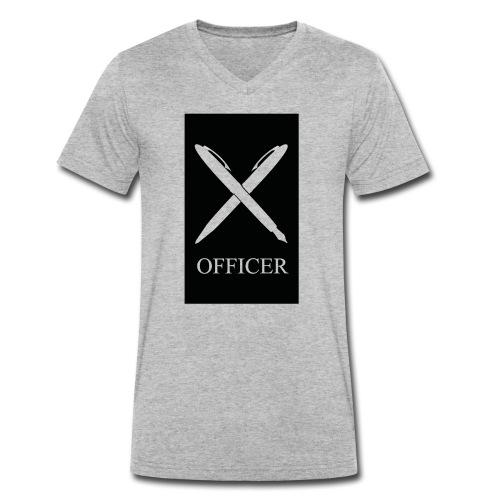 OFFICER - Männer Bio-T-Shirt mit V-Ausschnitt von Stanley & Stella