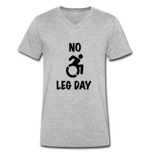 nolegday - Mannen bio T-shirt met V-hals van Stanley & Stella