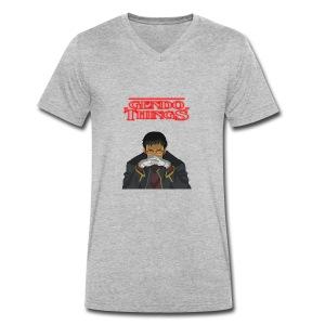 Gendo things - Camiseta ecológica hombre con cuello de pico de Stanley & Stella