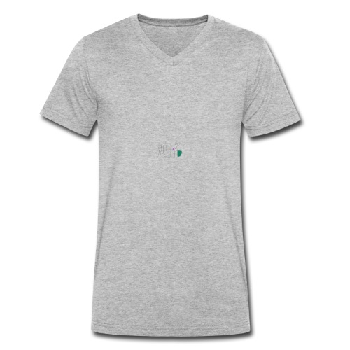 Logo_1 - Männer Bio-T-Shirt mit V-Ausschnitt von Stanley & Stella