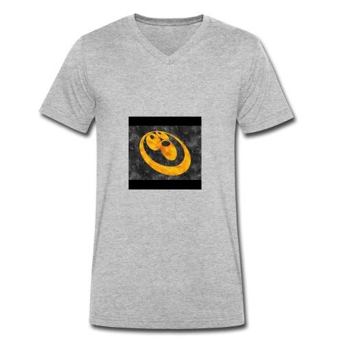 MY LOGO - Men's Organic V-Neck T-Shirt by Stanley & Stella