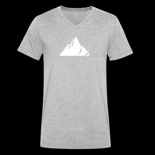 Sarah's Baby Mountain - Männer Bio-T-Shirt mit V-Ausschnitt von Stanley & Stella