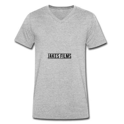 jakesfilms - Men's Organic V-Neck T-Shirt by Stanley & Stella