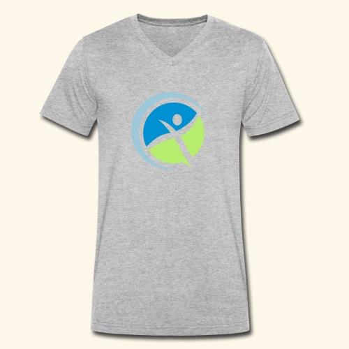 Gesund und leistungsfähig - Männer Bio-T-Shirt mit V-Ausschnitt von Stanley & Stella
