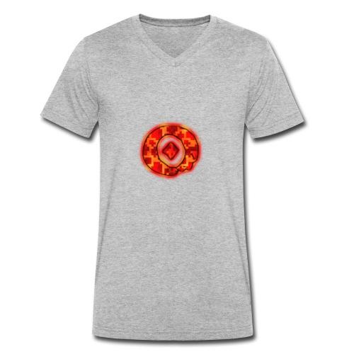 Omega O - Men's Organic V-Neck T-Shirt by Stanley & Stella