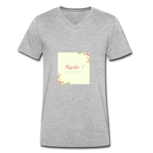 Primptemps - T-shirt bio col V Stanley & Stella Homme