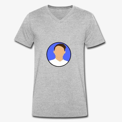 MarcussDK LGO - Økologisk Stanley & Stella T-shirt med V-udskæring til herrer