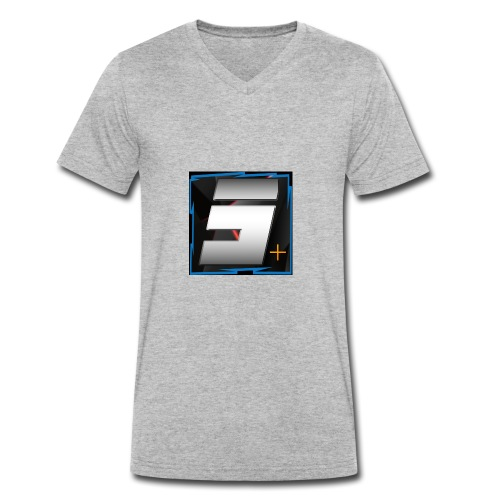 Logo Sernicke Plus - Männer Bio-T-Shirt mit V-Ausschnitt von Stanley & Stella