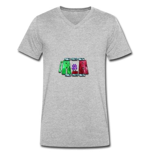 RubyBlaze YT OFFICIAL MERCHANDISE - Ekologisk T-shirt med V-ringning herr från Stanley & Stella