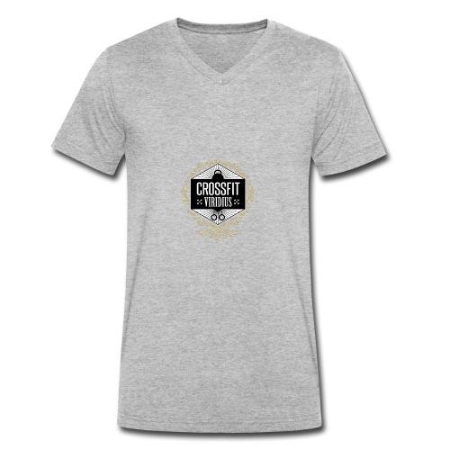 Logo_VIRIDIUS_gros_noir_interieur - T-shirt bio col V Stanley & Stella Homme