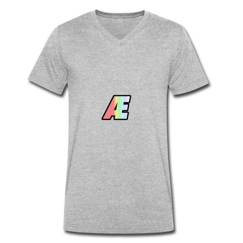 Airo Soxtan logo - Men's Organic V-Neck T-Shirt by Stanley & Stella