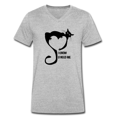 I know u need me - T-shirt bio col V Stanley & Stella Homme