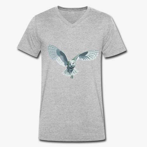 barn owl - Männer Bio-T-Shirt mit V-Ausschnitt von Stanley & Stella