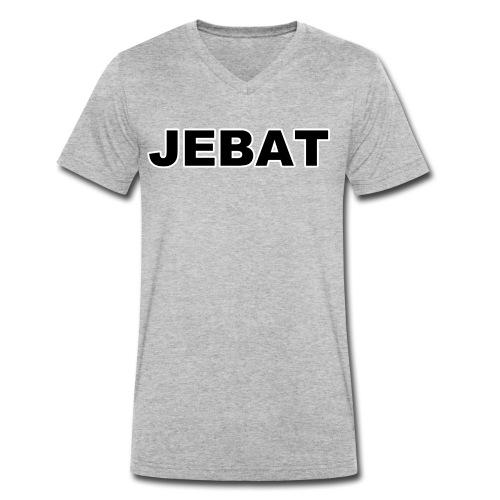 Jebat outline - Männer Bio-T-Shirt mit V-Ausschnitt von Stanley & Stella