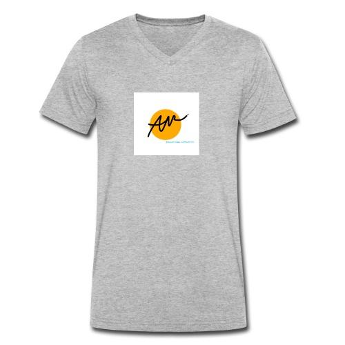 KERAMIKSTUDIO ANNE WERNER© - Männer Bio-T-Shirt mit V-Ausschnitt von Stanley & Stella