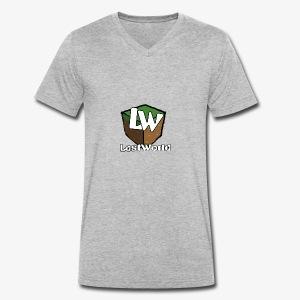 Logo LastWorld Transparent - T-shirt bio col V Stanley & Stella Homme