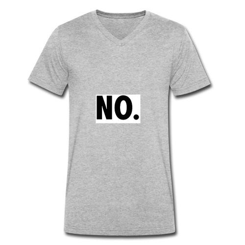 NO - Männer Bio-T-Shirt mit V-Ausschnitt von Stanley & Stella