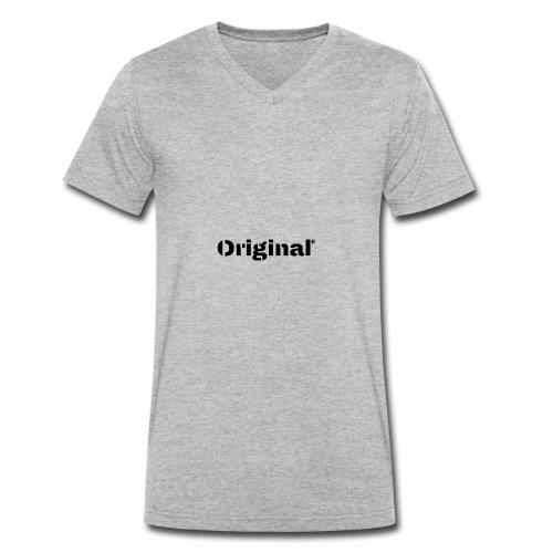 Original, by 4everDanu - Männer Bio-T-Shirt mit V-Ausschnitt von Stanley & Stella