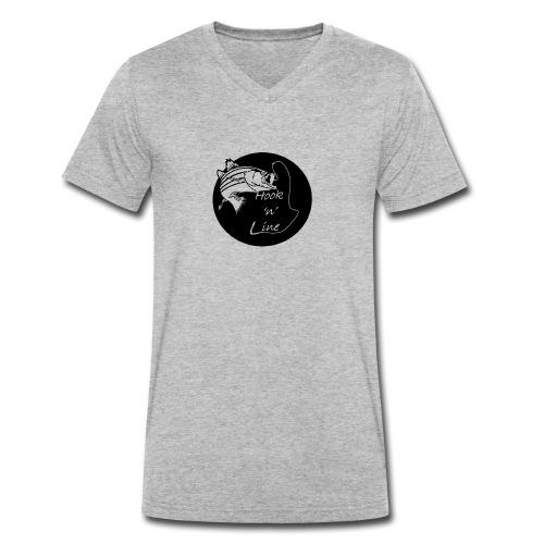 Hooknline original logo - Men's Organic V-Neck T-Shirt by Stanley & Stella