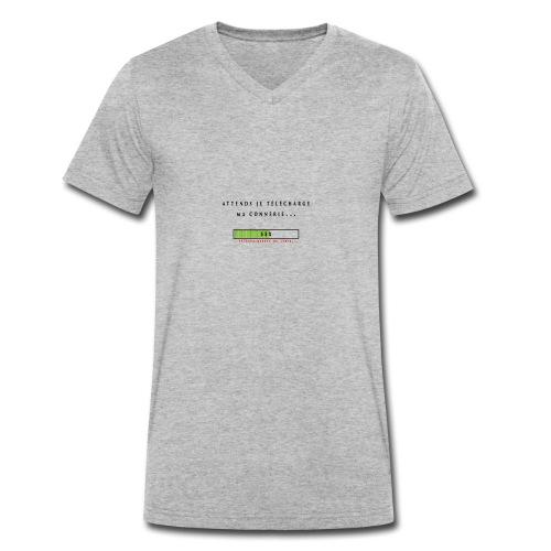 vetement telechargement - T-shirt bio col V Stanley & Stella Homme