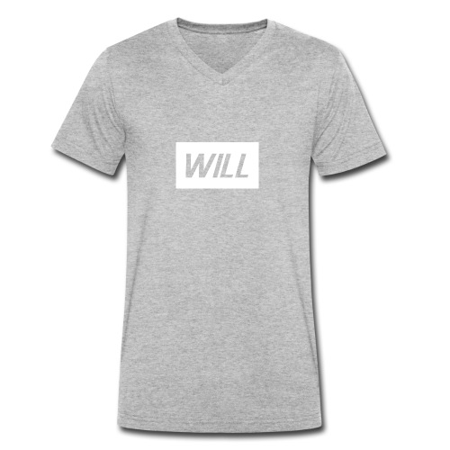 Official Will Clothing - Men's Organic V-Neck T-Shirt by Stanley & Stella