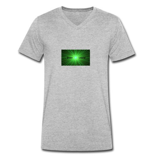 Green Leipzig - Männer Bio-T-Shirt mit V-Ausschnitt von Stanley & Stella