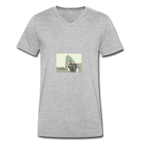 VAPE NATION!! *copyright' - Økologisk T-skjorte med V-hals for menn fra Stanley & Stella