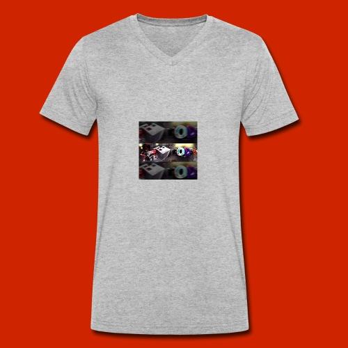 Mcmodsgamer - Männer Bio-T-Shirt mit V-Ausschnitt von Stanley & Stella