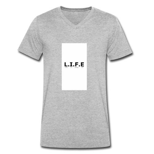 Tops - Men's Organic V-Neck T-Shirt by Stanley & Stella