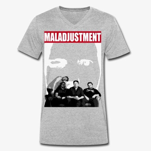 Maladjustment   Band - Männer Bio-T-Shirt mit V-Ausschnitt von Stanley & Stella