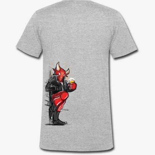 Don't mess with the Bull - Männer Bio-T-Shirt mit V-Ausschnitt von Stanley & Stella