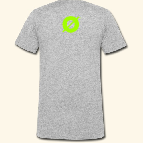 Pålømb Green - T-shirt ecologica da uomo con scollo a V di Stanley & Stella