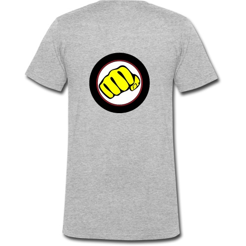 logo omega crew - T-shirt bio col V Stanley & Stella Homme